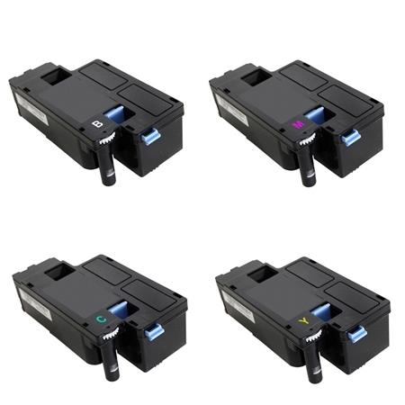 Compatible Multipack Dell 593-BBJX/BBJU/BBJV/BBJW 1 Full Set Toner Cartridges
