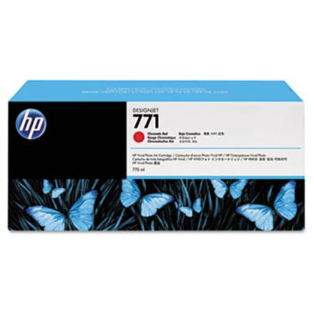 HP 771 (CE038A) Original Chromatic Red Inkjet Cartridge