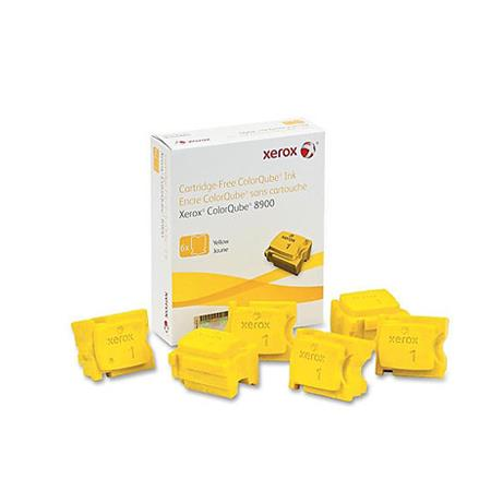 Xerox 108R01016 Yellow Original Solid Ink Cartridge 6 pack