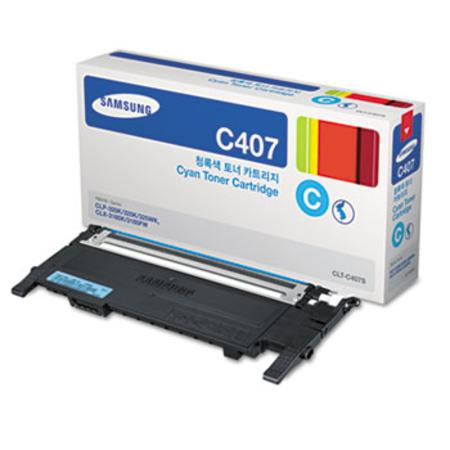 Samsung CLT-C407S Original Cyan Toner Cartridge