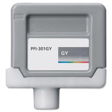 Canon PFI-301GY (1495B001) Compatible Gray Ink Cartridge