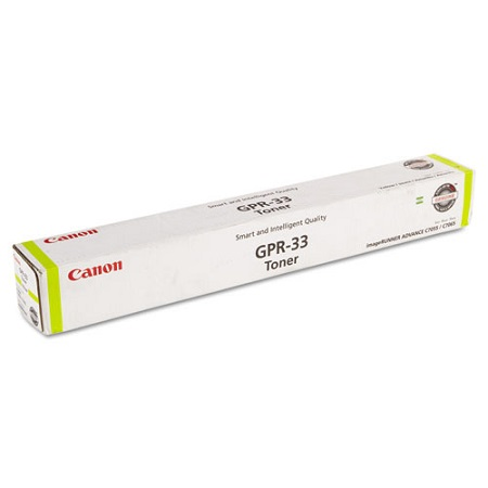 Canon GPR-33 Yellow Laser Toner Cartridge (2804B003AA)