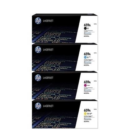 HP 659A Full Set Original Standard Capacity Toner Cartridges