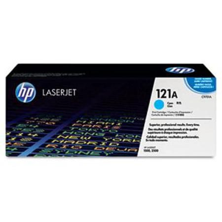 HP Color LaserJet 121A (C9701A) Cyan Original Print Cartridge with Smart Printing Technology