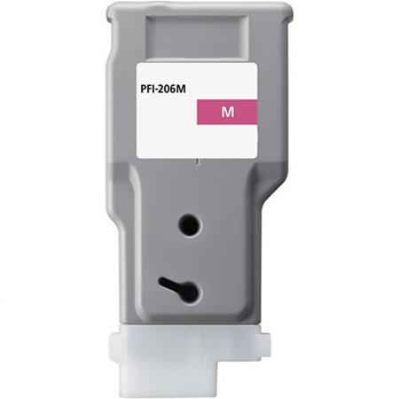 Compatible Magenta Canon PFI-206M Ink Cartridge (Replaces Canon 5305B001AA)