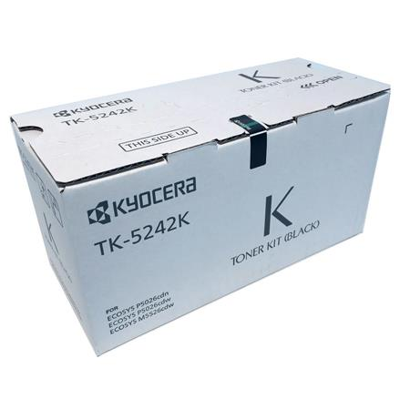 Kyocera TK-5242K Black Original Toner Cartridge