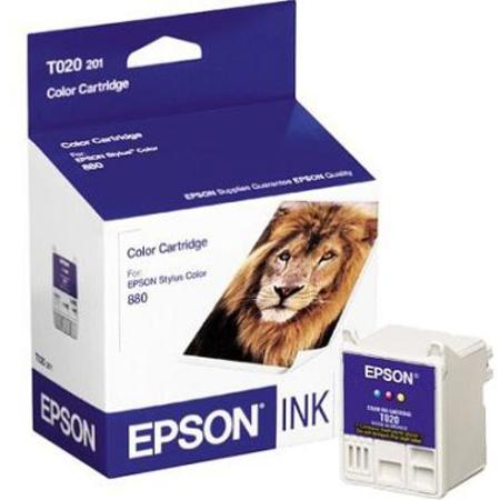 Epson T020 (T020201) Original Color Ink Cartridge