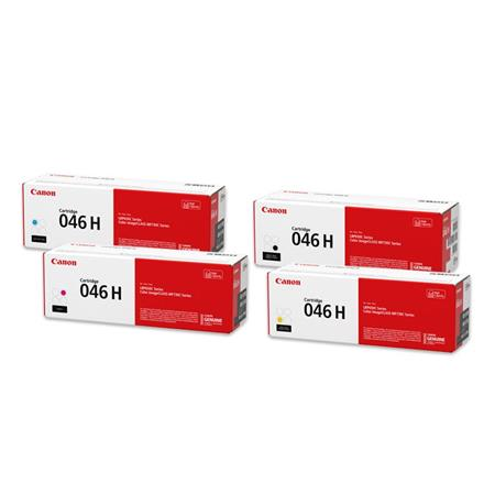 Canon 046 BK/C/M/Y Full Set Original Standard Capacity Toner Cartridges