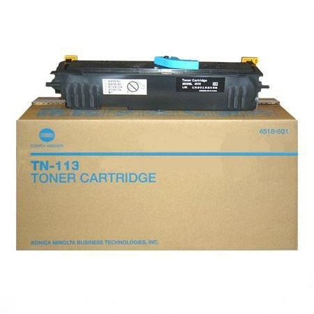 Konica Minolta TN113 Black Original Toner Cartridge