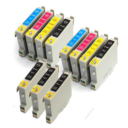 Compatible Multipack Epson T0441/424 2 Full Sets + 3 EXTRA Black Ink Cartridges
