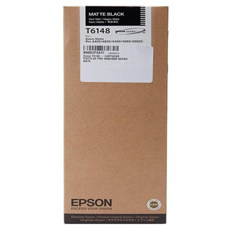 Epson T6148 Original Matte Black Ink Cartridge