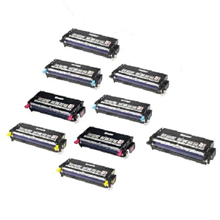 Clickinks 330-11908/1199/1200/1204 2 Full Set + 1 EXTRA Remanufactured Toners