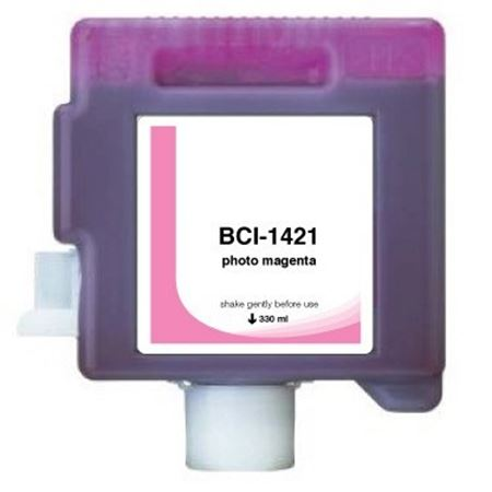 Compatible PhotoMagenta Canon BCI-1421PM Ink Cartridge (Replaces Canon 8372A001AA)