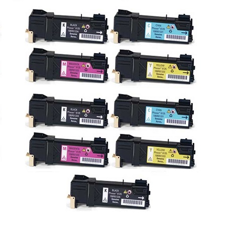106R01334 2 Full Sets + 1 EXTRA Black Remanufactured Toner Cartridge
