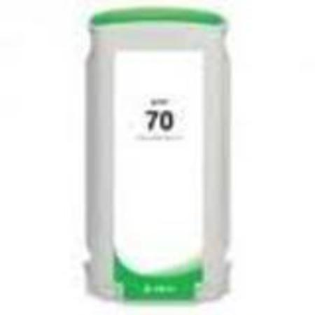 HP 70 Remanufactured Green Ink Cartridge (C9457A)
