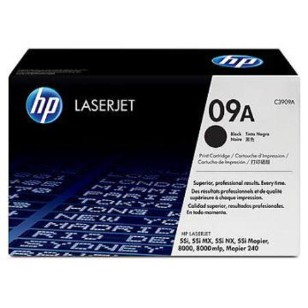 HP LaserJet 09A (C3909A) Black Original Standard Capacity Print Cartridge with Microfine Toner