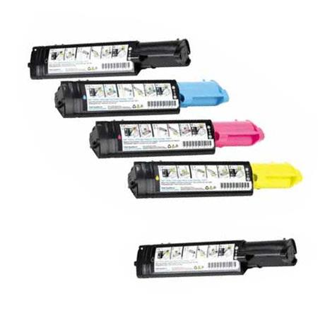 341-3568/3569/3570/3571 Full Set + 1 EXTRA Remanufactured Toners