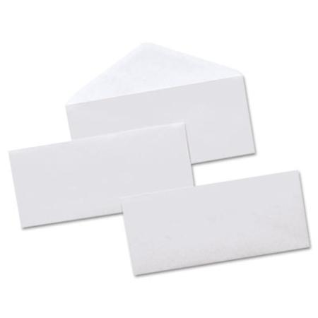 Universal Security Tinted Business Envelope V-Flap #10 White 500/box
