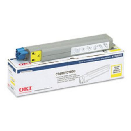 OKI 42918901 Yellow Original Toner Cartridge