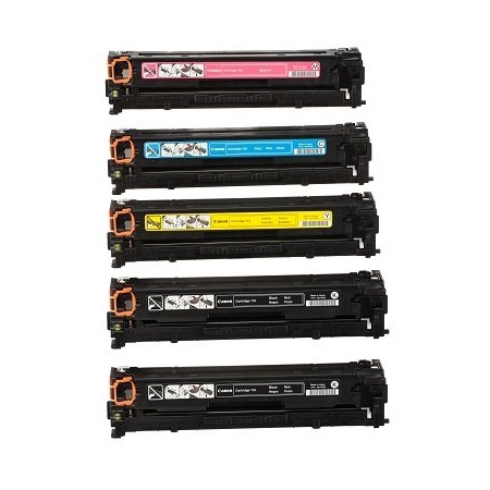 Compatible Multipack Canon 116 BK/C/M/Y Full Set + 1 EXTRA Black Toner Cartridges