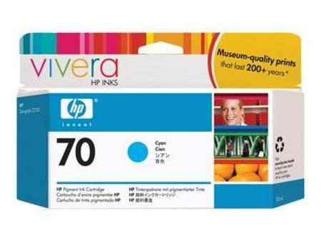 HP 70 Original Cyan Ink Cartridge (C9452A)