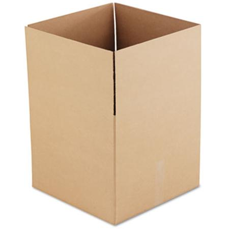 Corrugated Kraft Fixed-Depth Shipping Carton 18w x 18l x 16h Brown 15/Bundle