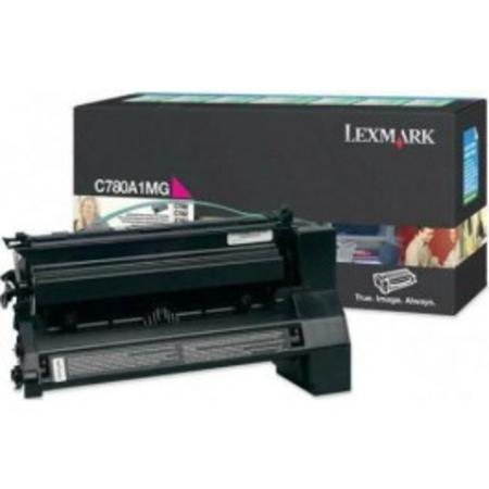 Lexmark C780A1MG Magenta Original Return Program  Laser Toner Cartridge