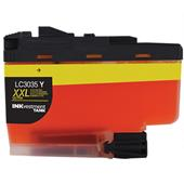 Compatible Yellow Brother LC3035Y High Yield Ink Cartridge