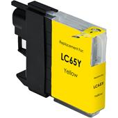 Compatible Yellow Brother LC65Y Ink Cartridge