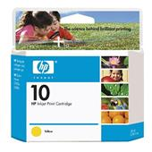 HP 10 Yellow Original Ink Cartridge (C4842A)