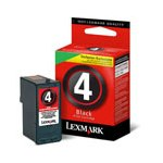 Lexmark No.4 (18C1974) Original Black Ink Cartridge
