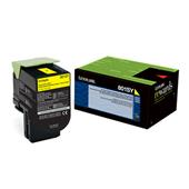 Lexmark 80C1SY0  Yellow Original Standard Capacity Return Program Toner Cartridge