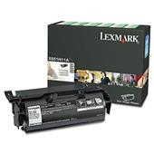 Lexmark X651H11A / X651H21A Black Original High Yield Return Program Laser Toner Cartridge