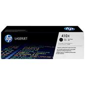 HP 410X (CF410X) Black Original High Capacity Toner Cartridge