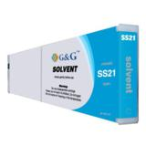 Mimaki SS21 Compatible Mild-Solvent Cyan Inkjet Cartridge