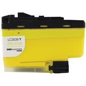Brother LC3039Y Yellow Compatible Ultra High Capacity Ink Cartridge
