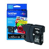 Brother LC65 Original Black High Yield Ink Cartridge