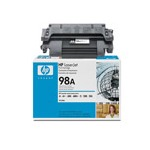HP LaserJet 98A (92298A) Black Original Standard Capacity Print Cartridge with Microfine Toner