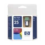 HP 25 Tri-Color Original Inkjet Print Cartridge (51625A)