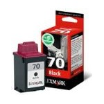 Lexmark No. 70 (12A1970) Black Original Print Cartridge