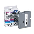 Brother TX3551 Original P-Touch Label Tape - 1 X 50 ft (24mm x 15m) White on Black