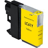 Compatible Yellow Brother LC61Y Standard Capacity Ink Cartridge