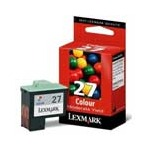 Lexmark No. 27 (10N0227) Moderate Use Color Original Ink Cartridge
