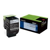Lexmark 80C10K0 Black Original Low Capacity Return Program Toner Cartridge