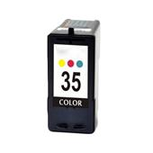 Compatible Color Lexmark No.35 High Yield Ink Cartridge (Replaces Lexmark 18C0035)