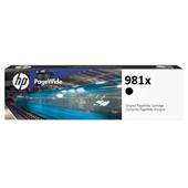 HP 981X (L0R12A) Black Original High Capacity PageWide Cartridge