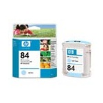 HP 84 Original Light Cyan Ink Cartridge (C5017A)