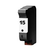 Compatible Black HP 15 Ink Cartridge (Replaces HP C6615DN)