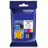 Brother LC30193PK Color Original Extra High Capacity Ink Cartridge Multipack - 3 Pack