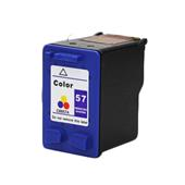 HP 57 TriColor Remanufactured Printer Ink Cartridge (C6657AN)